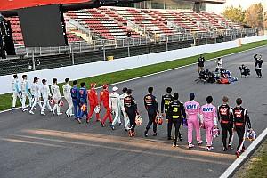 Así sería la parrilla de F1 con los tiempos de los test