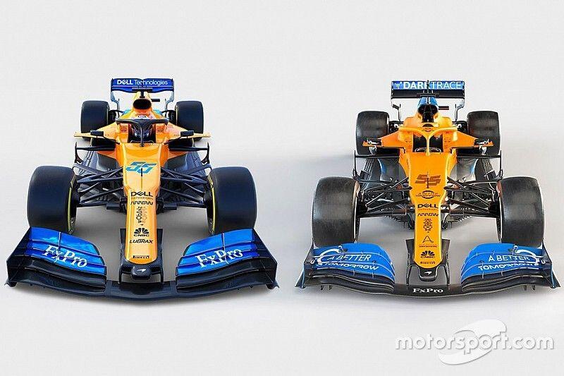 Ce qui différencie les McLaren 2020 et 2019