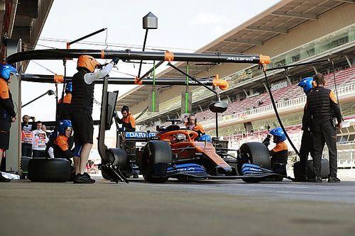 """Testprogramma McLaren ging voortvarend: """"Banden waren op"""""""