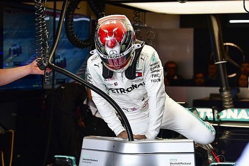 "Hamilton revela que sufrió un ""terrible dolor de cabeza"" en Austin"