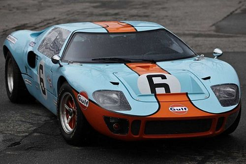 Trash Ferraris In This CAV GT40 In Gulf Livery