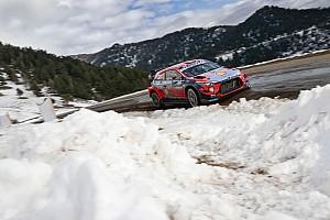 WRC, Monte-Carlo, PS13: Neuville sale 2° e vede la vetta