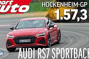Videó: Hockenheimben mérte össze erejét a BMW M5 Competition, és az Audi RS7 Sportback