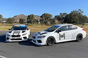 Rebuilt Subaru TCR cars hit the track