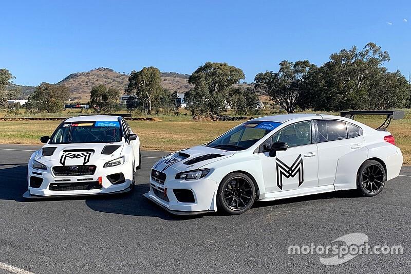 Rebuilt Subaru TCR cars hit the track