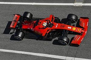 Vettel: 'Belachelijke' downforce compenseert te zware auto's niet