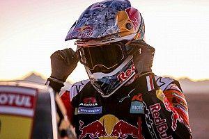 Zware val maakt einde aan Dakar van Sunderland