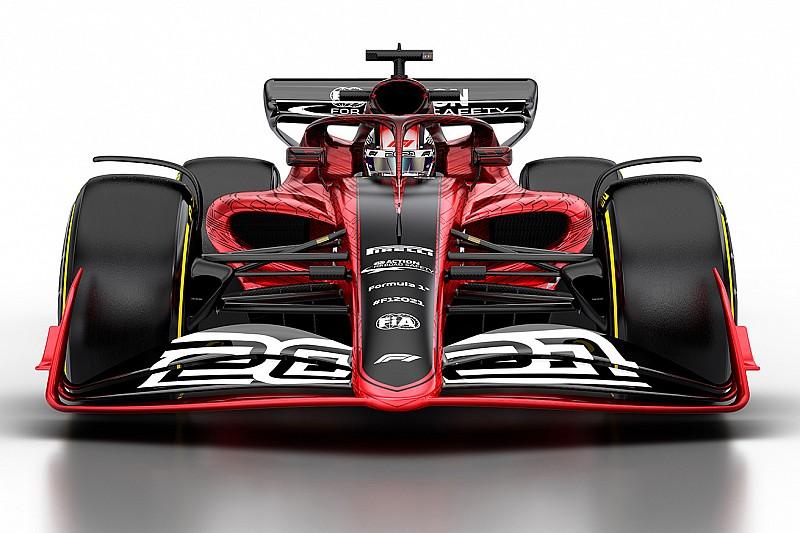 F1 2021: già cambia l'ala anteriore per ridurre l'effetto scia