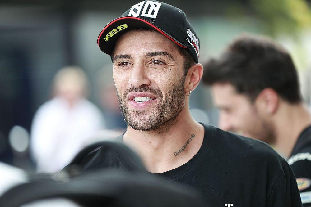 """Iannone: """"Biztos vagyok benne, hogy hamarosan újra motorozhatok. Az Aprilia vár rám."""""""