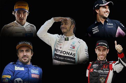 Los 50 mejores pilotos de 2019