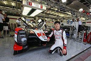 山下健太がテストでルーキー最速。TS050を初ドライブ|WECルーキーテスト