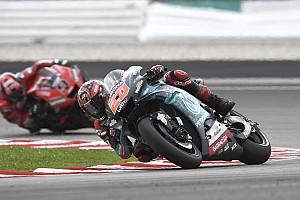 Michelin : le manque d'expérience de Quartararo a joué à Sepang