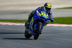 Sepang MotoGP: Mir shades Yamahas in warm-up