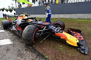 レッドブル代表、ブラジルFP1でクラッシュのアルボン責めず「我々が楽観的だった」