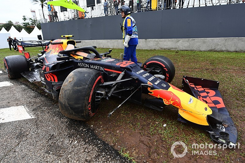 Albon not to blame for FP1 crash, says Horner