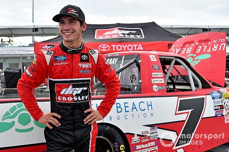 Tanner Gray to run full 2020 Truck schedule with DGR-Crosley