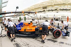 McLaren sigue con los ajustes de su departamento técnico