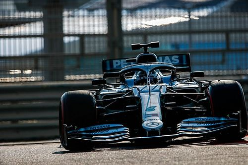 Bottas tops first day of Abu Dhabi F1 test, Perez spins Vettel