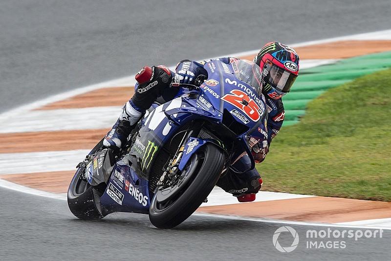 MotoGP Valencia: Pole pozisyonu Vinales'in, Marquez kaza yaptı!