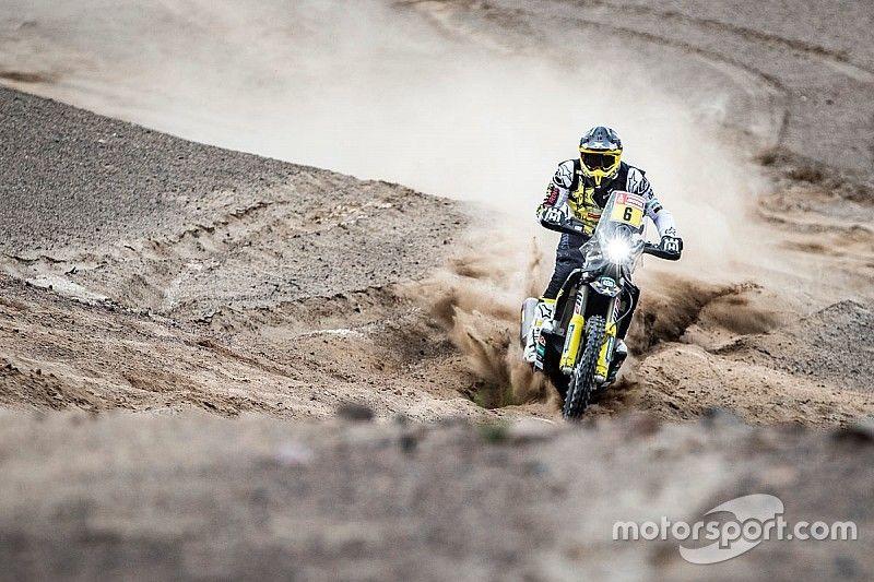 Dakar, Moto, Tappa 6: zampata di Quintanilla, che si prende anche la leadership