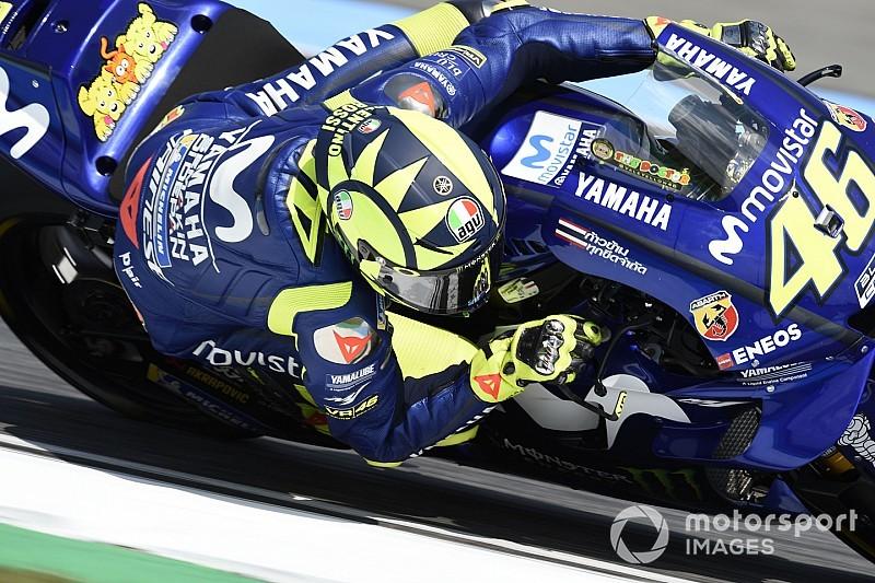 Rossi baalt van missen podium, maar noemt Thaise GP 'heel belangrijk'