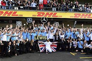 """Mercedes: """"Hemos hecho algo extraordinario en la historia de la competición"""""""
