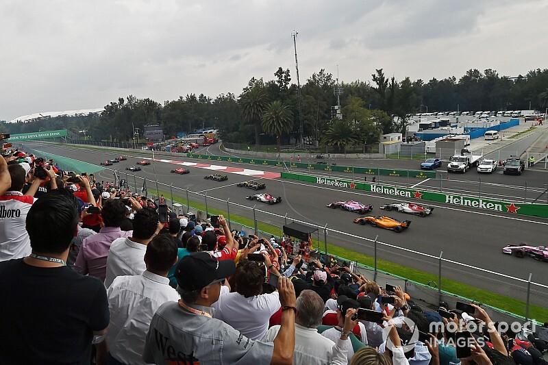 Формула 1 покажет Гран При Мексики на Twitch
