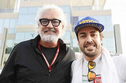 Alonso esta listo para regresar a la Fórmula 1, dice Briatore