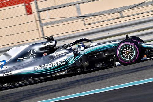 Bottas snelste tijdens ochtend eerste testdag, Verstappen terug in RB14