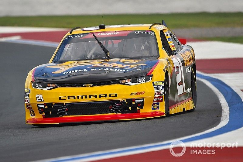 """Daniel Hemric """"frustrated at myself"""" after costly late-race error"""
