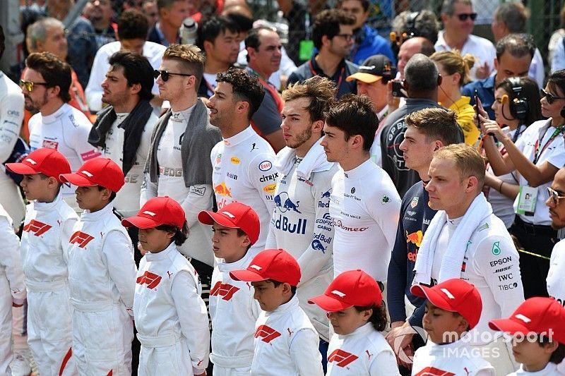 La edad de los pilotos de Fórmula 1 en 2019