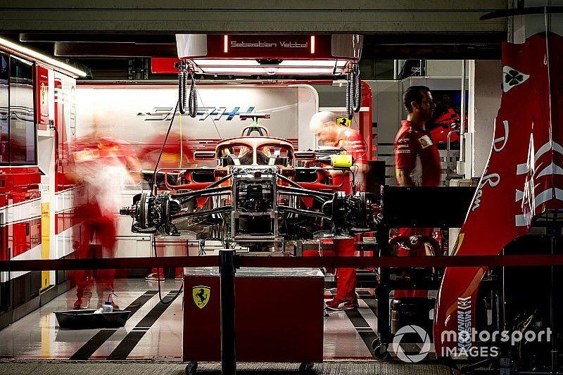 Formel-1-Technik: Detailfotos beim GP Japan