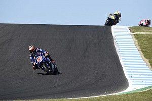 El semáforo del Gran Premio de Australia de MotoGP