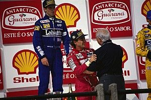 La victoria de Senna en Brasil 1993 y el encuentro con Fangio