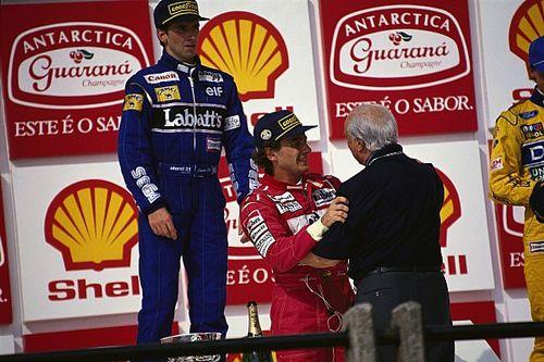 """Hill compara Senna e Prost: """"Tinham maneiras muito diferentes de trabalhar"""""""