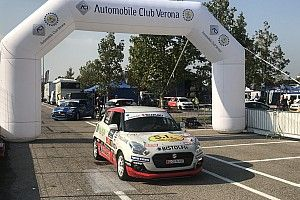 Suzuki Rally Trophy, PS1: prova annullata per il brutto crash di Pollara
