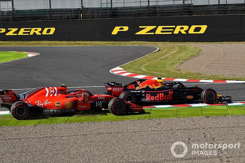 """Raikkonen: """"La Ferrari molto danneggiata nell'aerodinamica dopo l'urto di Max"""""""
