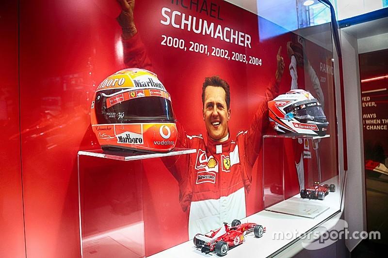 """Fotogallery: la mostra """"Michael 50"""" dedicata a Schumacher al Museo Ferrari di Maranello"""