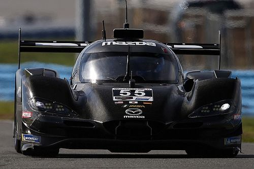 Daytona gece testi: Bomarito lider, Mazda 1-2