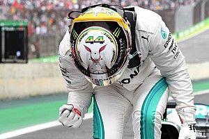 Hamilton le gana la pole a Vettel en Brasil