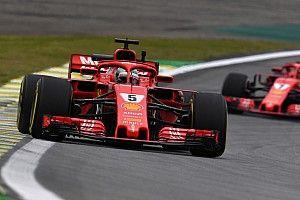 Brezilya GP 3. antrenman: Vettel, Hamilton'ın 0.2 saniye önünde lider