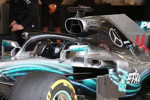 Photos - Les modifications techniques des F1 à Austin