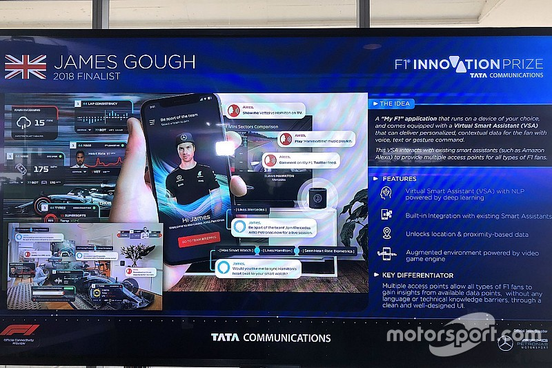 F1 trabajará en una nueva tecnología para involucrar a los fanáticos