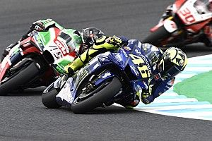 Valentino Rossi: Falscher Reifendruck kostete Startreihe zwei