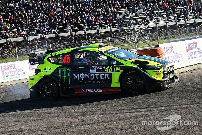 Rossi vence con contundencia su séptimo Monza Rally Show