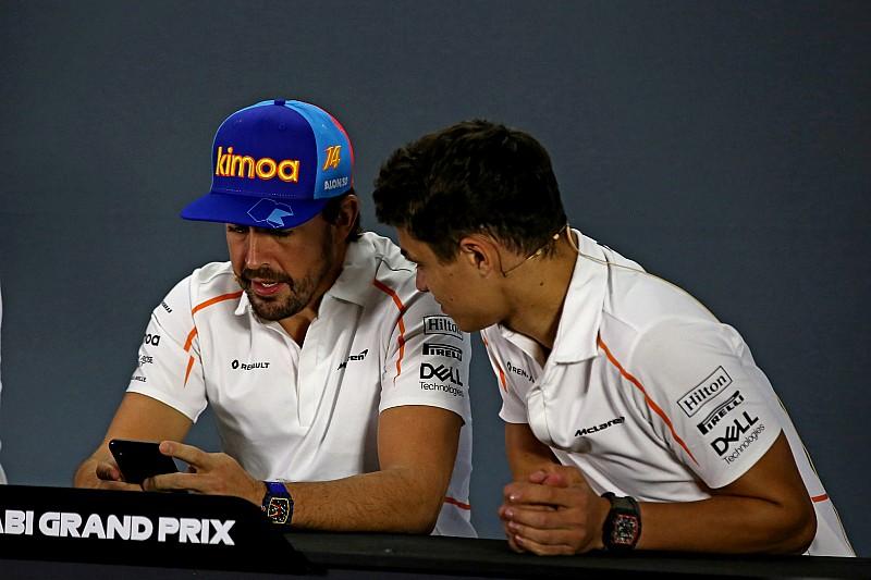 Норріс: Допомога Алонсо у 2019-му стала б цінною для McLaren