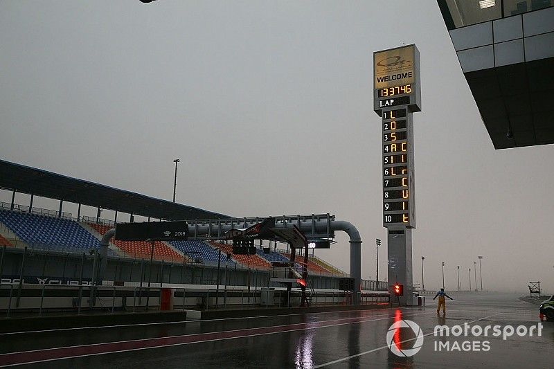 Troppa pioggia a Losail: posticipate le gare della Superbike e della Supersport