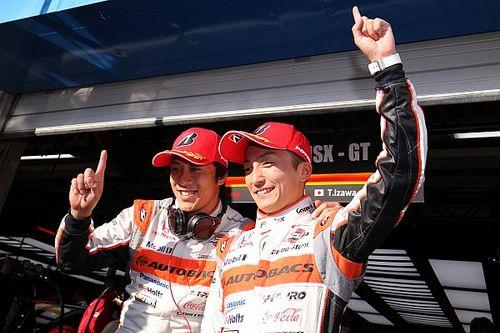 Kualifikasi Super GT Autopolis: Honda tiga besar