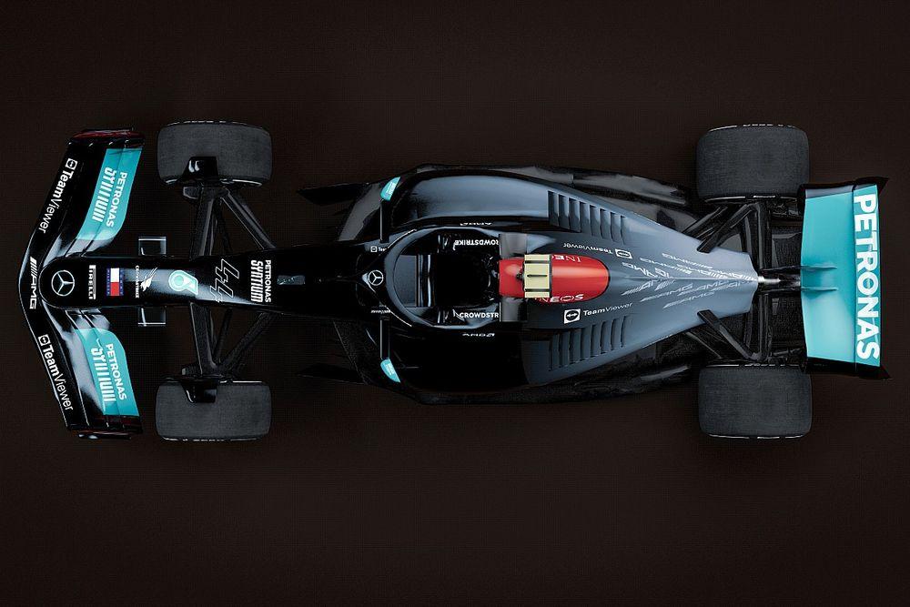 Nowy Mercedes już w tunelu