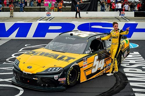 Christopher Bell cruises to Xfinity win at New Hampshire